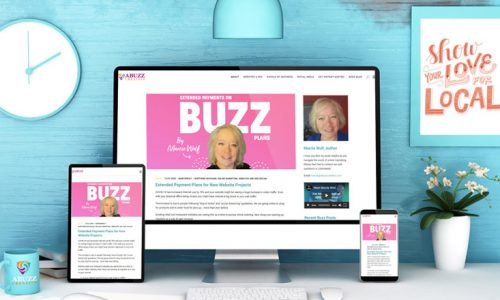 Responsive Website Design Marcie Wolf Abuzz Creative
