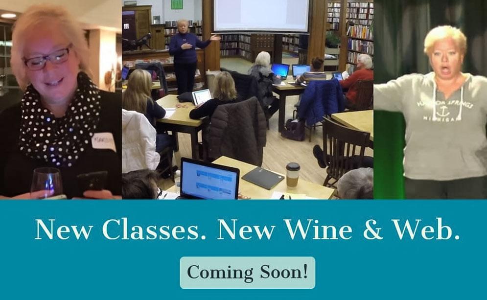 New Marketing Classes. New Wine & Web.