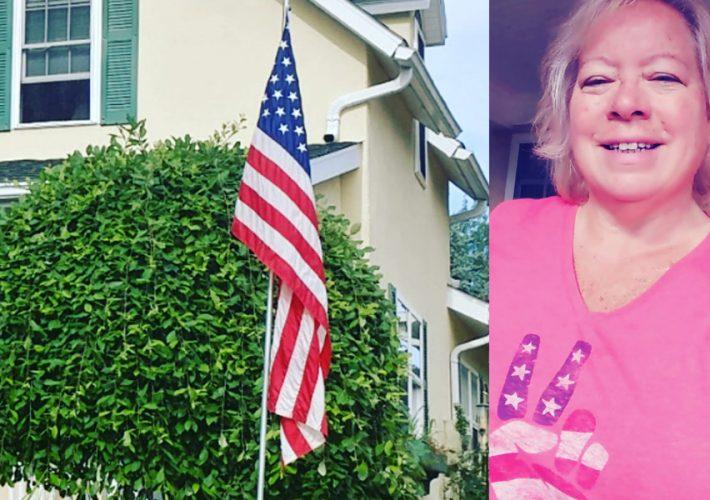 Kiwanis Petoskey Flag Marcie Wolf